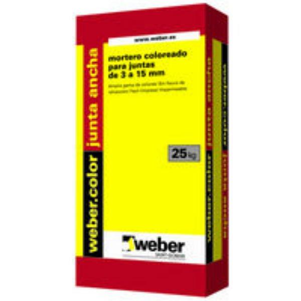 Weber color junta ancha precio
