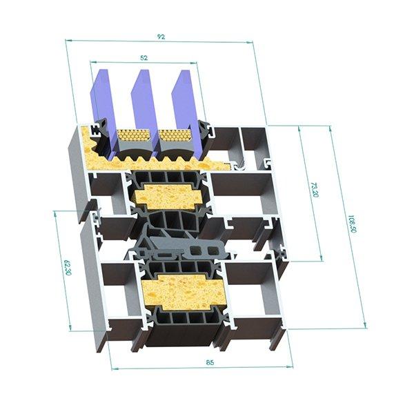 Sistema SM- 85 (2 hojas) Oscilob