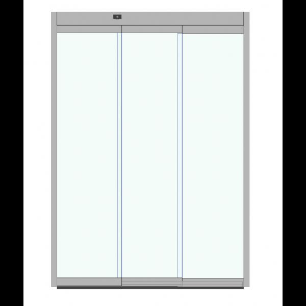 Puerta automática Corredera Tele