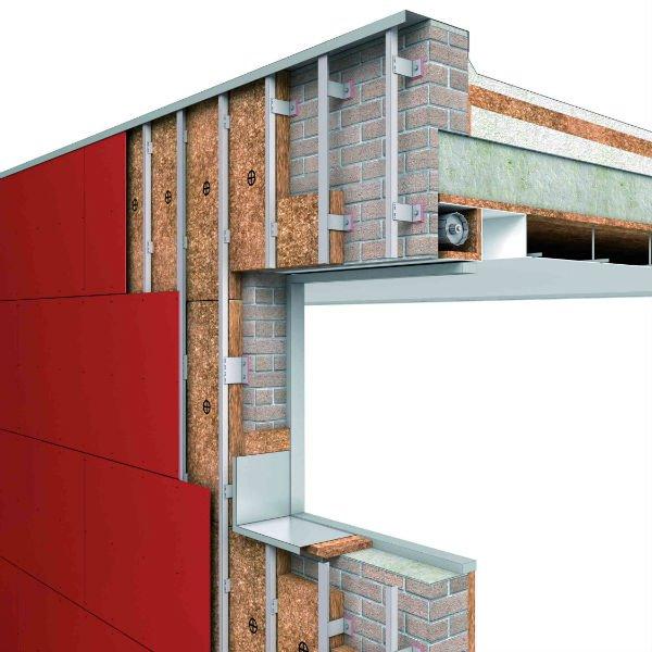 Fachada ventilada redair rockw - Precio fachada ventilada ...