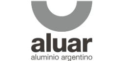 Logo ALUAR Aluminio Argentino