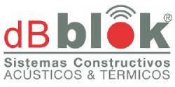 Logo dBblok. Sistemas Constructivos Acústicos y térmicos
