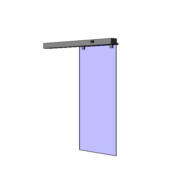 puerta corredera apertura lateral derecha sin hoja fija manusa