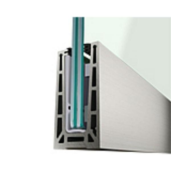 Barandilla easy glass pro de q railing for Detalle barandilla vidrio
