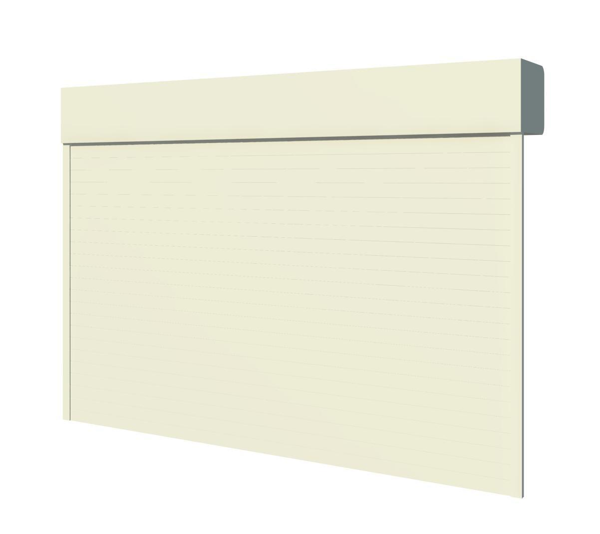 Puerta enrollable collbaix para garajes modelo master for Garajes modelos