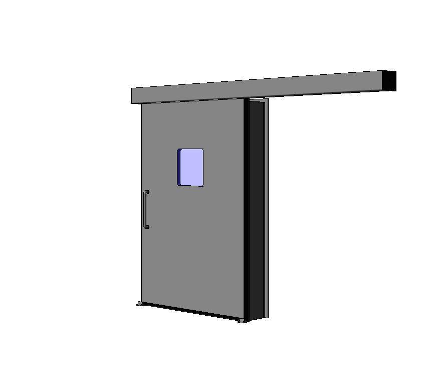 puerta herm tica corredera p50h apertura lateral izquierda