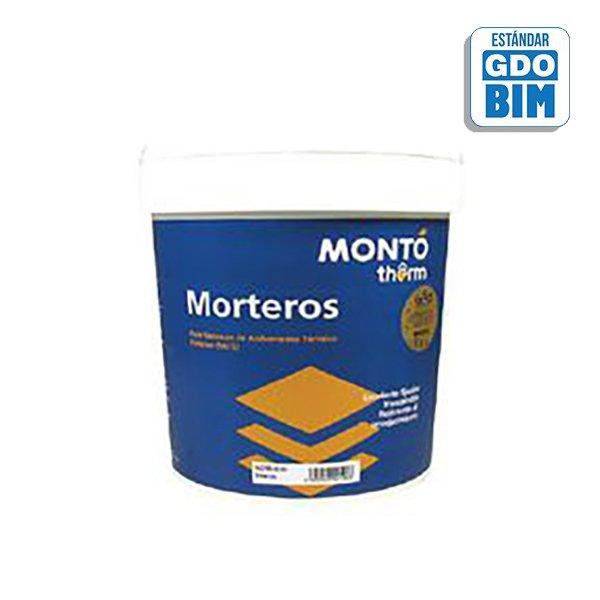 MONTÓ therm Mortero Siloxano