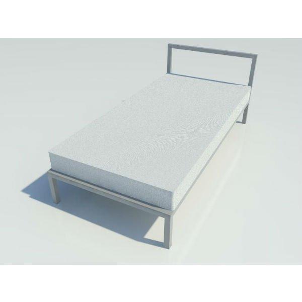 Marco de Cama de Aluminio Genéri
