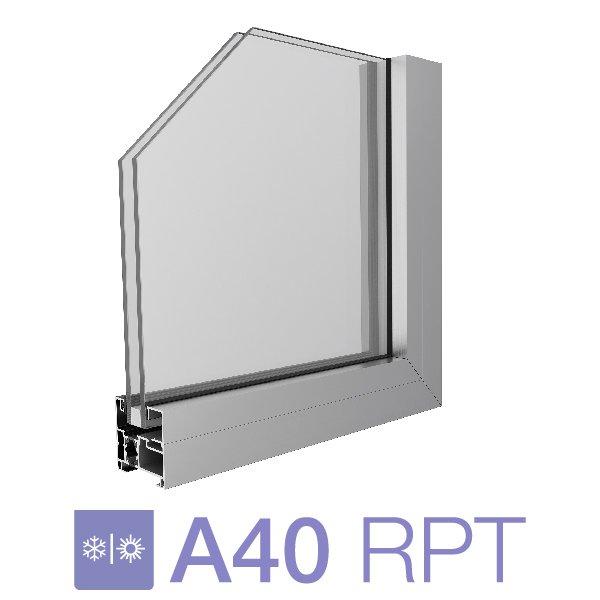 Sistema A40 RPT  Paño Fijo  - Al