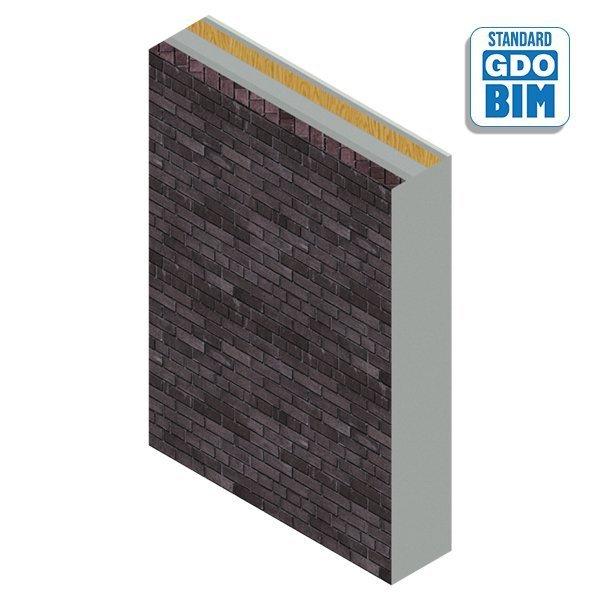 Typisches Mauerwerk / CLT Wand f