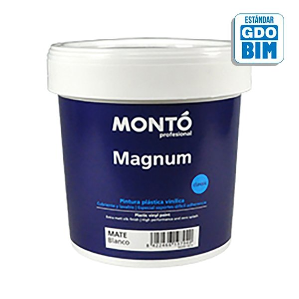 Pintura plástica Magnum Blanco