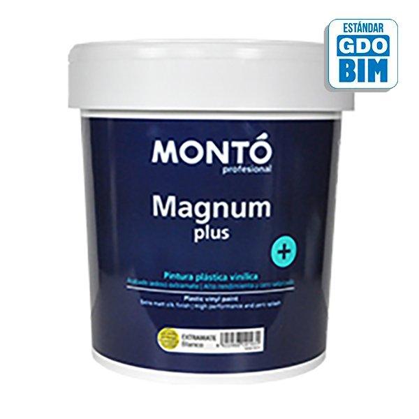 Pintura plástica Magnum+ Blanco