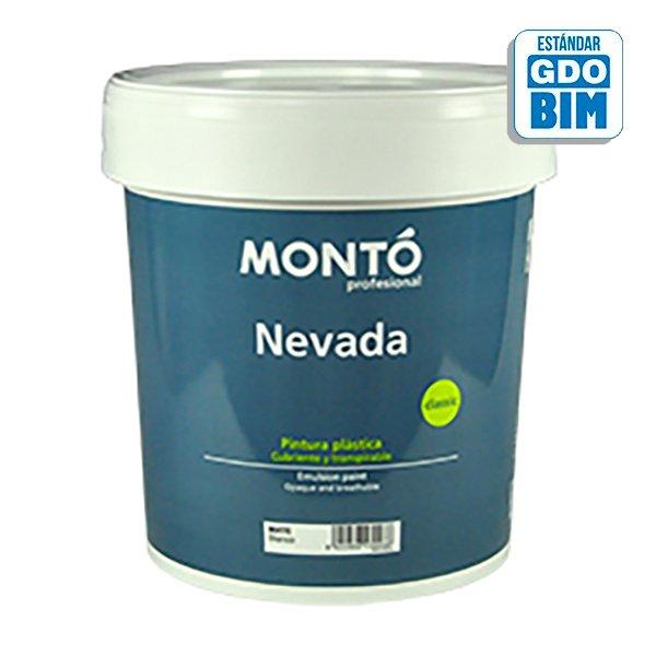 Pintura plástica Nevada Satinado