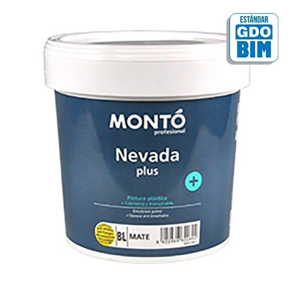 Pintura plástica Nevada + Blanco