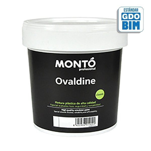 Pintura plástica Ovaldine Semibr