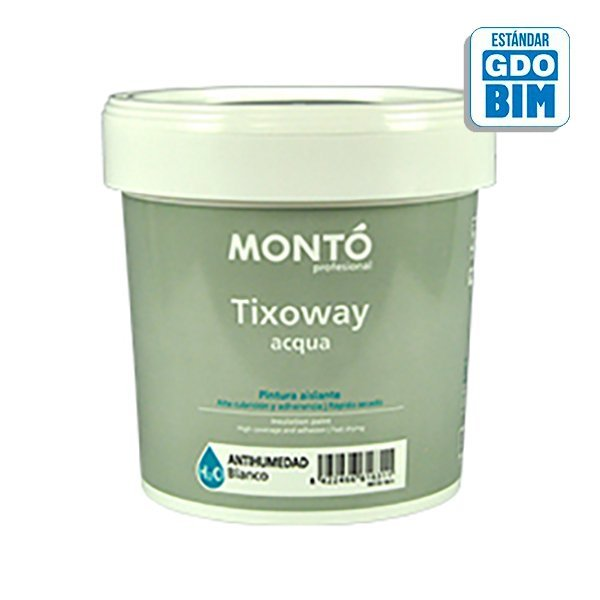 Pintura plástica Tixoway Antiman