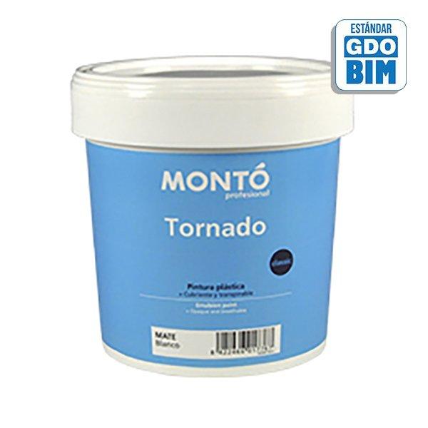 Pintura plástica Tornado Blanco
