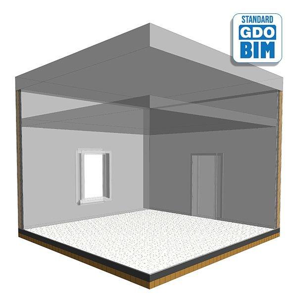 CLT plate / hevet gulvsystem på