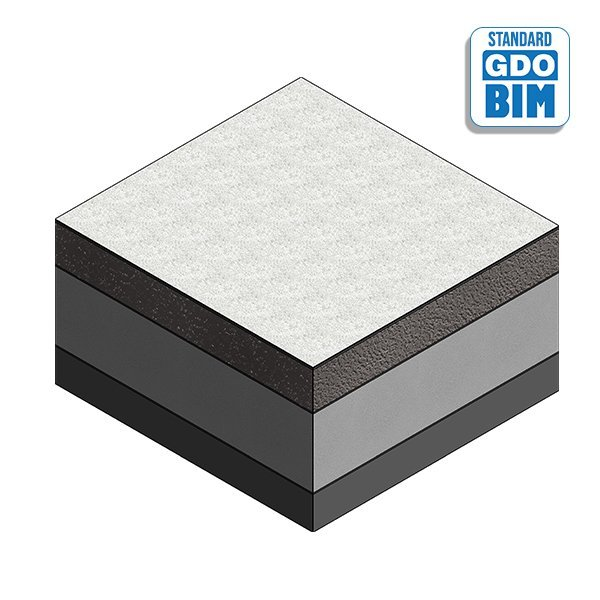 Forsterket betongplate ved ADA d
