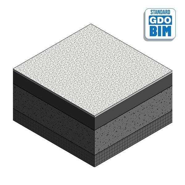 Forsterket betong ved platejord
