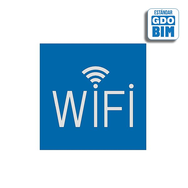 Señal Señal Wifi logo arriba Azu