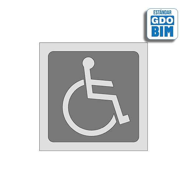 Señal WC discapacitados