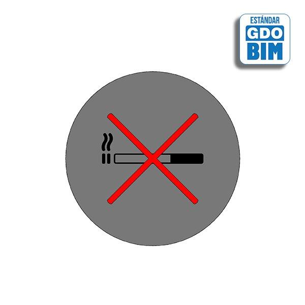 Señal circular aluminio no se pe