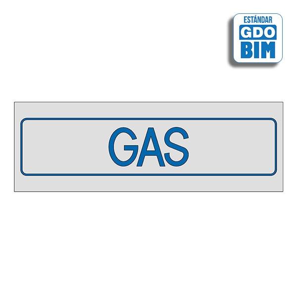 Señal GAS Dorada, Plateada y Gla
