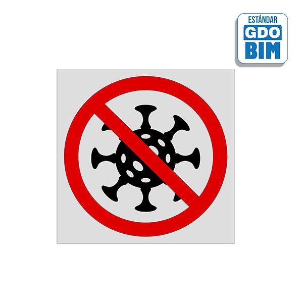 Señal Coronavirus - Prohibición