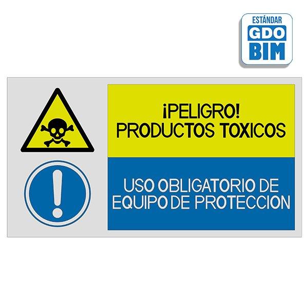 Señal Peligro productos tóxicos