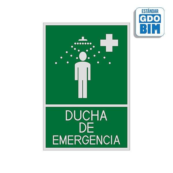 Señal Ducha de emergencia