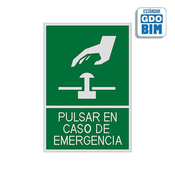 Señal Pulsar en caso de emergenc
