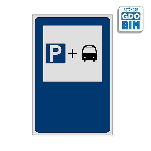 Señal Estacionamiento para usuar