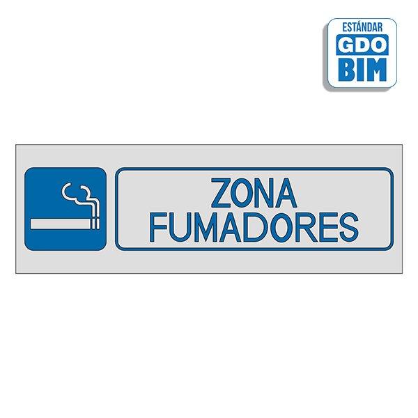 Señal Zona de fumadores