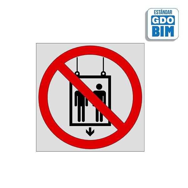 Señal Prohibido utilizar