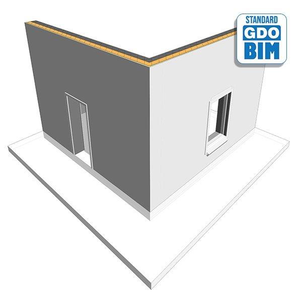 Strukturelt isolert panelparti t