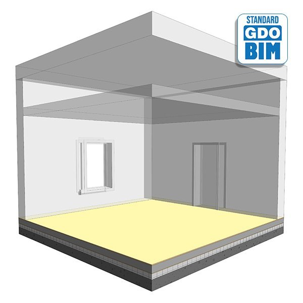Doppelbodensystem im Büro 460mm