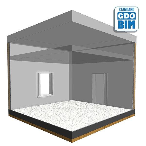 CLT Bodenplatten - Doppelbodensy