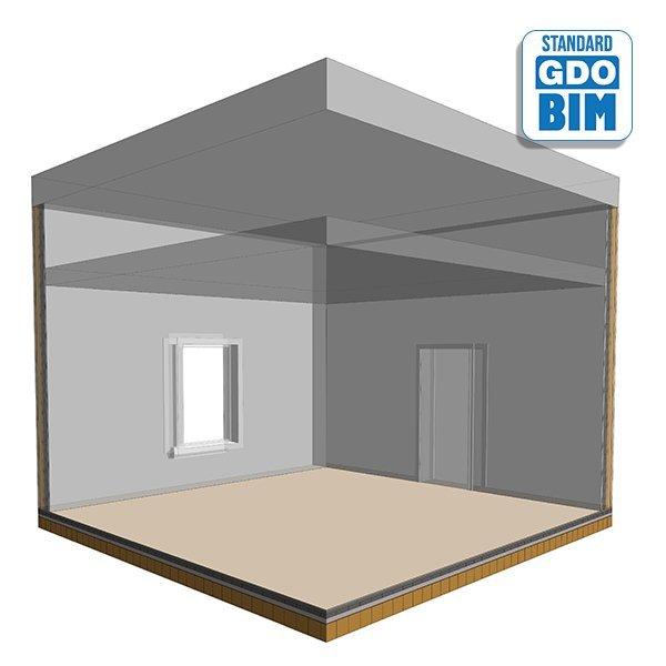 CLT Bodenplatten im Wohnzimmer 2