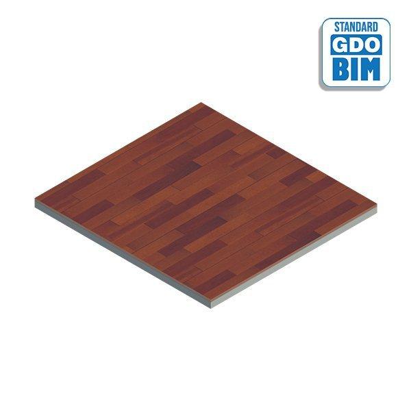 Plancher de bois stratifié