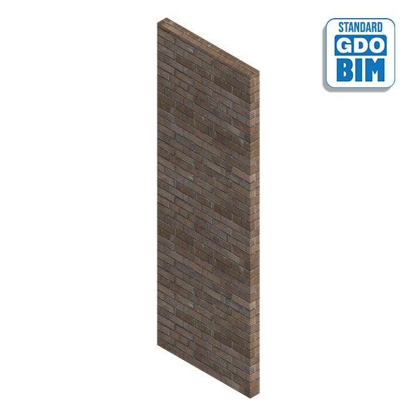 Solid brick wall - Not bearing
