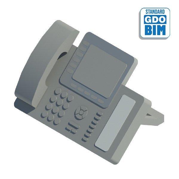 Generisches Telefon mit Bildschi