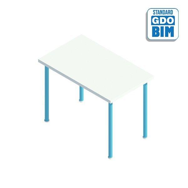 Tavolo rettangolare 1000mm