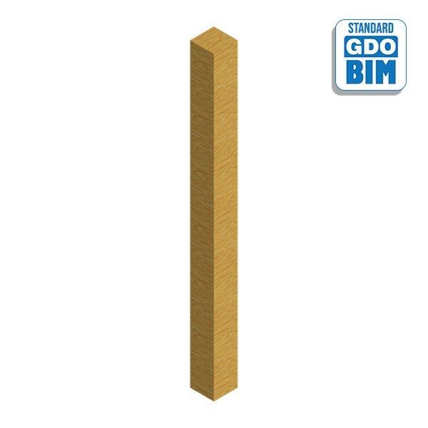Strukturelle-Nadelholzsäule Bret