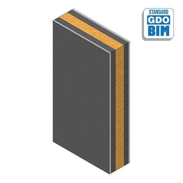 bim objects build in wood CLT-Tr