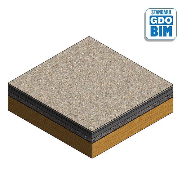 CLT Floor Panel at Core 253mm