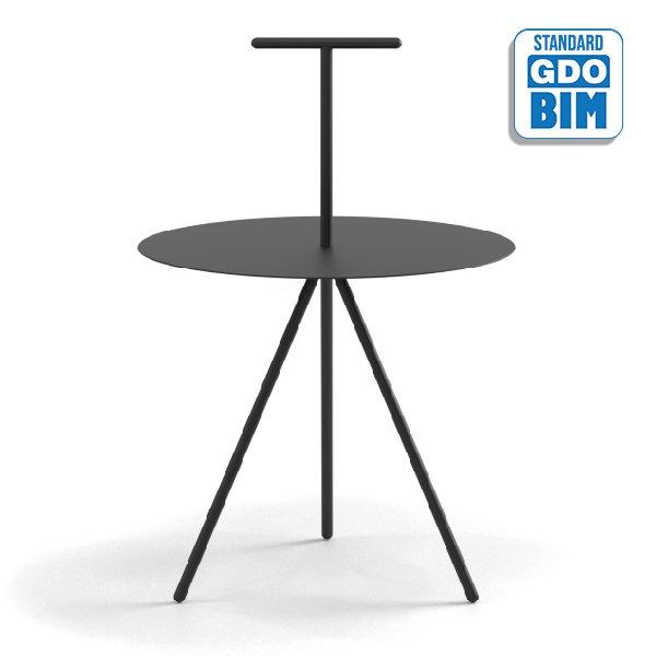 Trino Low Table T Model - TRIT