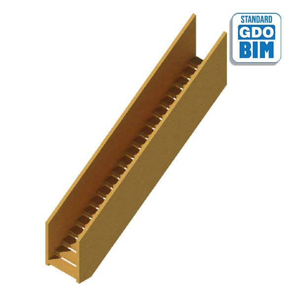 Load bearing CLT Stair
