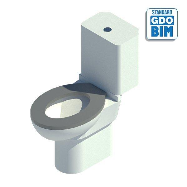 Avoin ja korotettu wc vammaisill