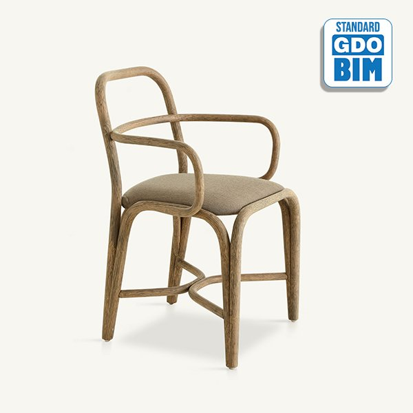 Fontal dining chair Oscar Tusque